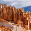 Hoodoo Arches from the Amphitheater Floor - Bryce Canyon National Park
