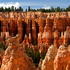 Hoodoos from the Amphitheater Floor - Bryce Canyon NAtional Park