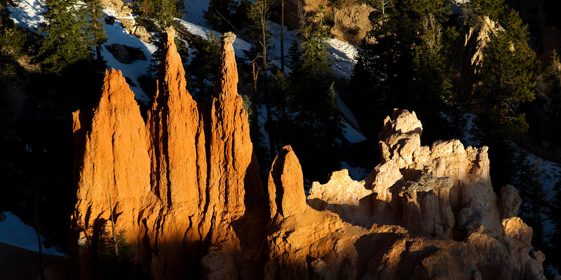 Early Morning Hoodoo Glow - Bryce Canyon National Park