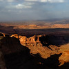 Sunset Atop Pucker Pass - Dead Horse Point State Park