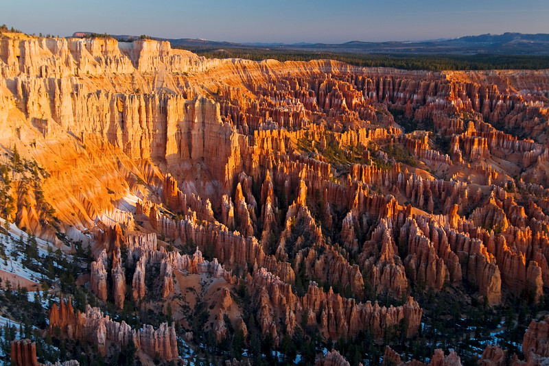 Hoodoos at Sunrise - Bryce Canyon National Park