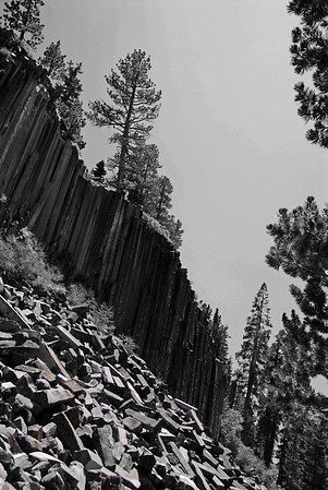 Devil's Postpile, Mammoth Lakes, CA