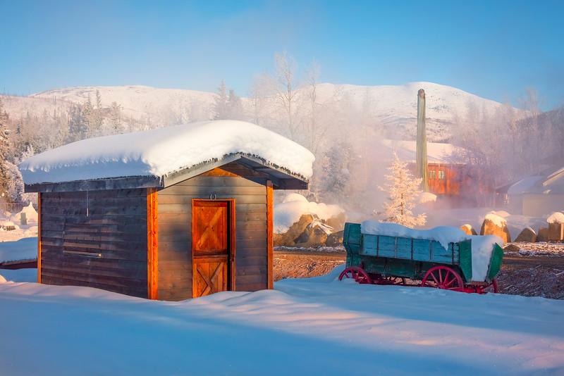 A Lost Winter City -Chena Hot Springs Resort, Fairbanks, Alaska