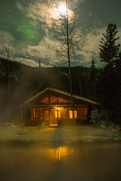 Cabin Next To The Pond -Chena Hot Springs Resort, Outside Fairbanks, Alaska