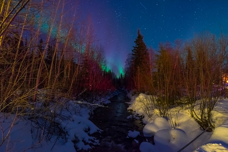 River To The Lights -Chena Hot Springs Resort, Fairbanks, Alaska