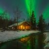 Reflections Of Mixed Light -Chena Hot Springs Resort, Outside Fairbanks, Alaska