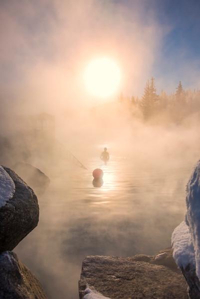 Mist Of The Chena Hot Spring -Chena Hot Springs Resort, Fairbanks, Alaska