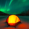 Camping Under The Lights -Chena Hot Springs Resort, Fairbanks, Alaska