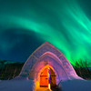 Igloo Under The Aurora -Chena Hot Springs Resort, Fairbanks, Alaska