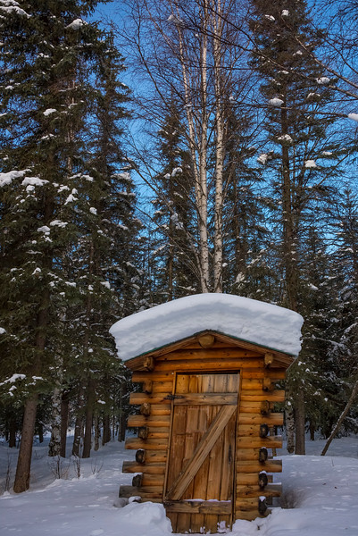 Out In The Middle Of Nowhere -Chena Hot Springs Resort, Fairbanks, Alaska