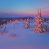 Majestic Cool Evening On Mt Skiland -Fairbanks, Mt Aurora Skiland, Alaska