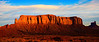 A Wall Of First Light - Monument Valley National Monument, Arizona