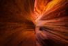 Converging Curves of Peek-A-Boo Gulch -Peek-A-Boo Slot Canyon, Grand Staircase-Escalante National Monument, Utah