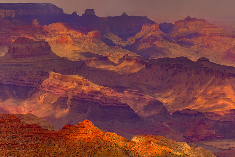The Interplay Of Light And Shadow - Grand Canyon National Park, Arizona