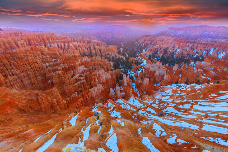 The Change Of Turbulence Over Bryce - Bryce Canyon National Park, Utah