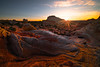The Cracking Of The Rocks At Sunset - White Pockets, Vermillion Cliffs National Monument, Arizona
