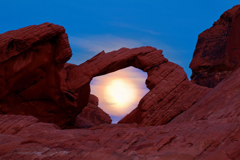 Through The Looking Glass - Valley Of Fire State Park, Nevada