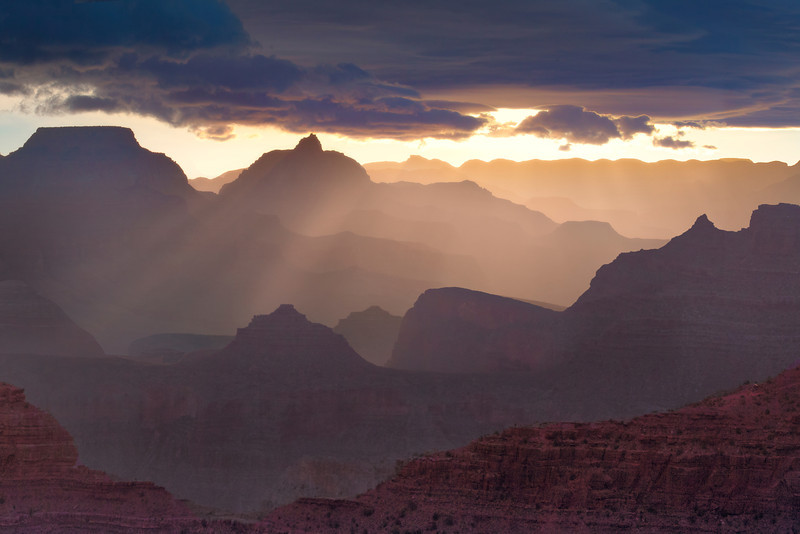 The Different Shades Of The Grand Canyon - Grand Canyon National Park, Arizona