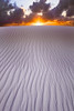 Working Your Way Up To The Light - White Sands National Monument, New Mexico