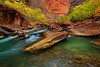 From All Four Corners - Entrance Of The Narrows, Zion National Park, Utah