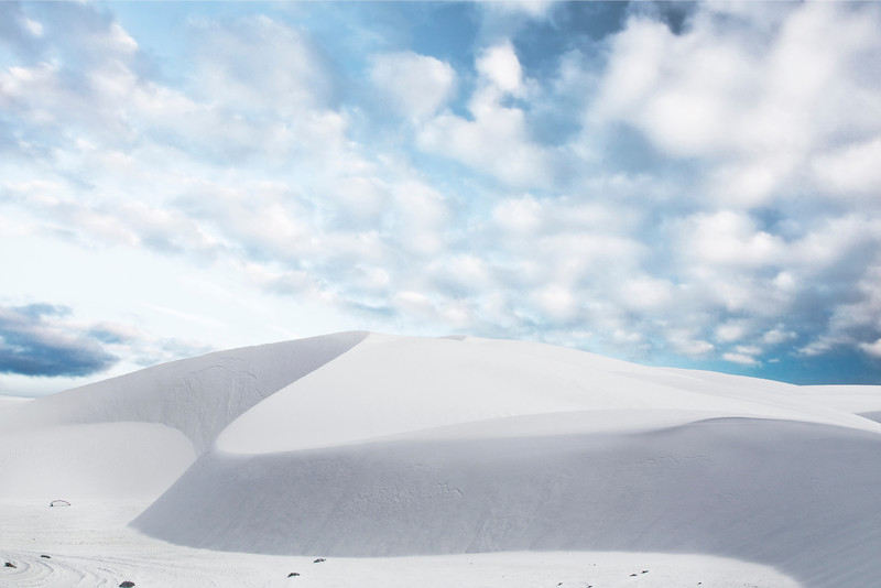 Ripples Of Time - White Sands National Monument, New Mexico