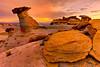 Sunrise From Studhorse Point - Page, Arizona