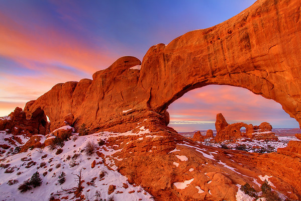 Waves Of Light - Turret Arch, Arches National Park, Utah