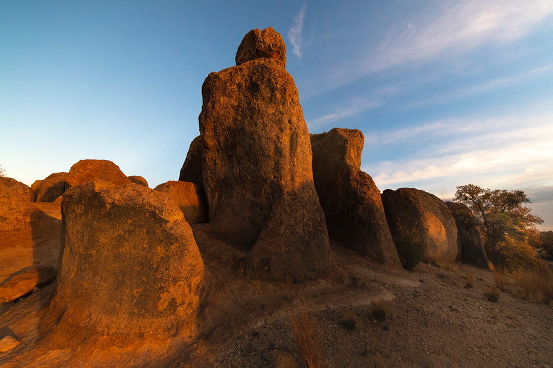 Boulders Of Light And Strength City Of Rocks State Park, New Mexico