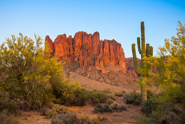 Superstitions from Lost Dutchman State Park - Lost Dutchman State Park,Arizona