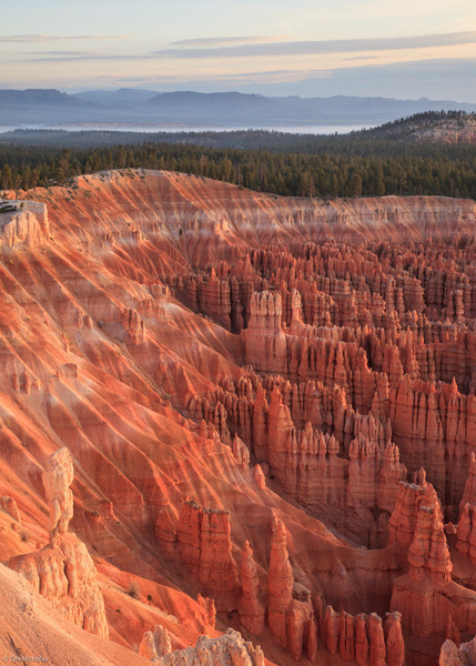 Bryce: dawn at Inspiration Point