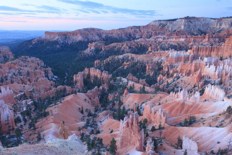 Bryce: pre-dawn at Sunrise Point