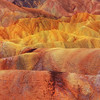 The Rolling HIlls And Color Of Zabriskie Point - Death Valley National Park, California