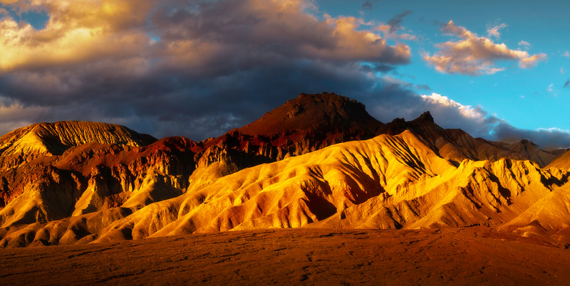 Mountains Of Light In Death Valley - Death Valley National Park, Eastern Sierras, California
