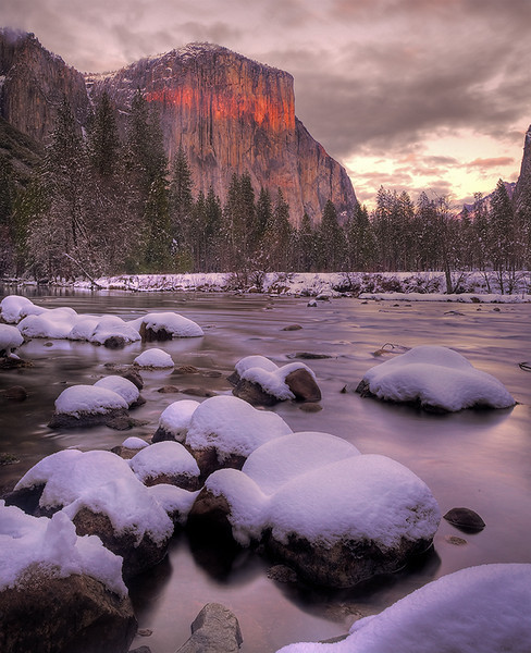Band Of Red - Yosemite National Park, California