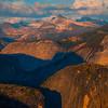 Upper Valley Of Yosemite From Glacier Road - Yosemite National Park, Sierra Nevadas, California