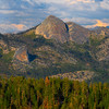 Yosemite Peaks From Glacier Road - Yosemite National Park, Sierra Nevadas, California