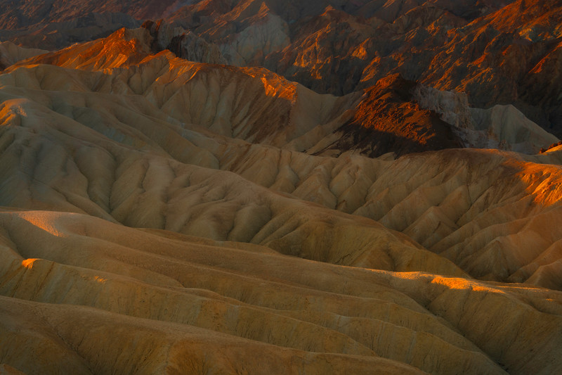 The Rolling Crevaces Of Death Valley - Death Valley National Park, Eastern Sierras, California