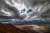 Clouds Rolling Overhead From Dantes Viewpoint - Death Valley National Park, Eastern Sierras, California