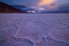 Sunset On Badwater Basin - Death Valley National Park, Eastern Sierras, California