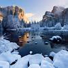 Frozen Gates Of Winter - Valley View, Yosemite National Park, California