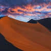 Colors Of Sunset And Shadows - Death Valley National Park, California