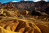 The Rolling Hills Of 20 Mule Team Canyon - Death Valley National Park, Eastern Sierras, California