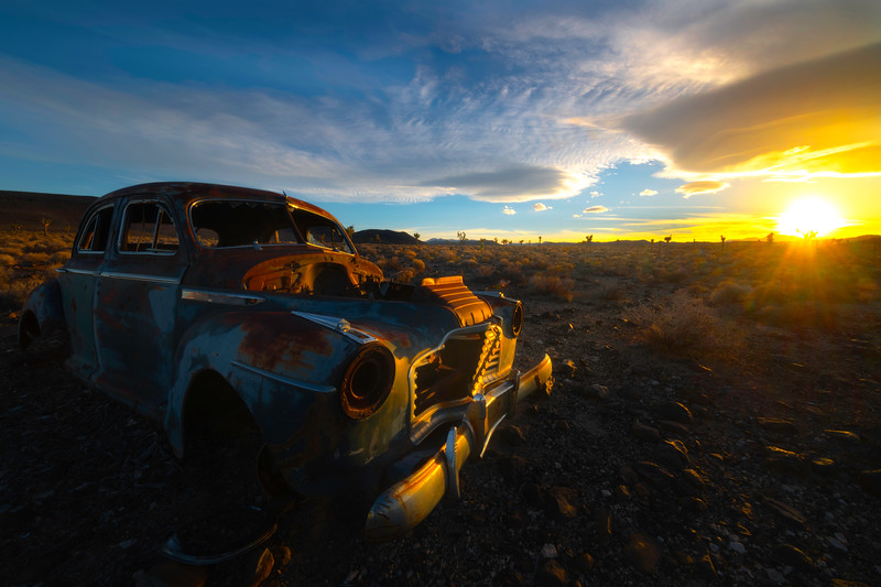 Lost History In Death Valley - Death Valley National Park, Eastern Sierras, California