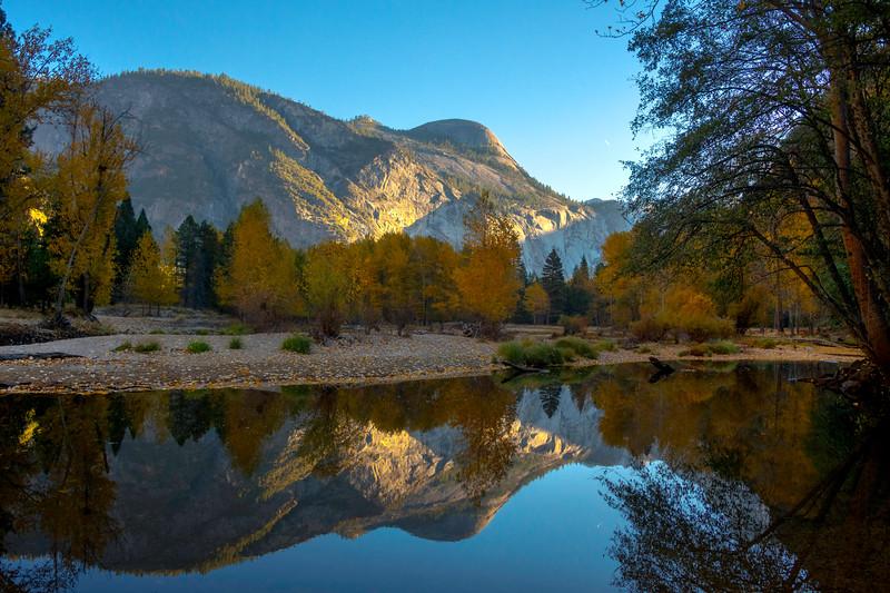 Reflections Of North Dome - Lower Yosemite Valley, Yosemite National Park, California