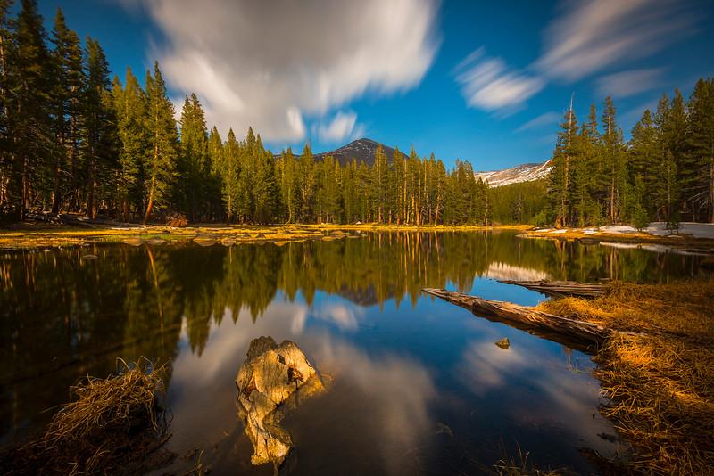 Long Exposure And Twin Lakes - Yosemite National Park, Sierra Nevadas, California