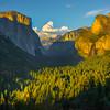 Wide View Of Tunnel View - Yosemite National Park, Sierra Nevadas, California