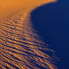 Borders Of Warm And Cool Colors In Death Valley - Death Valley National Park, California