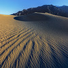 Converging Ripples In The Desert - Death Valley National Park, California