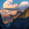Storm Abrewing Above Half Dome From Tunnel View - Yosemite National Park, Sierra Nevadas, California