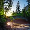 Sunlight Under The Pohono Bridge - Yosemite National Park, Sierra Nevadas, California